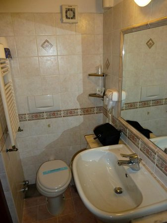 Hotel Navona: Bathroom
