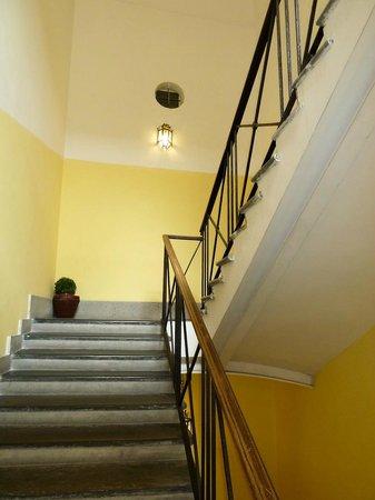Hotel Navona : Stairwell
