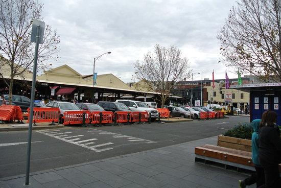 Queen Victoria Market: The market
