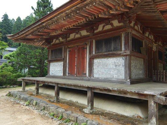 One of the original temples of Koyasan