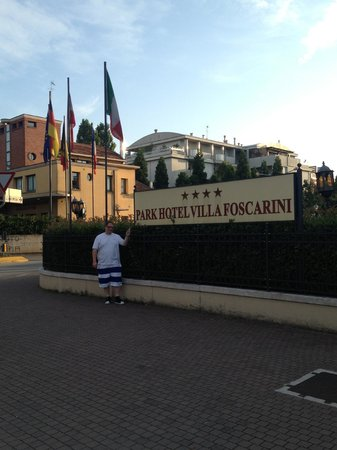 Hotel Villa Foscarini: in front of the hotel