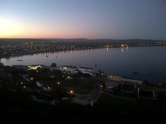 Protea Hotel by Marriott Saldanha Bay: The hotel and the bay (taken from the hill behind the Hotel)