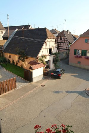 Hotel La Bergerie: view from room