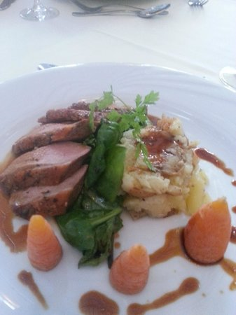 Hadley Park House Hotel: Dinner