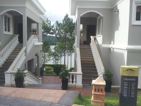 Dalat Edensee Resort & Spa: Villen mit Seeblick