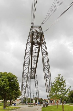 Pont Transbordeur - Maison du Transbordeur : Le haut du pont