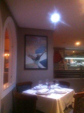 Restaurante Bistro: Bistrô, ambiente agradável e boa comida.
