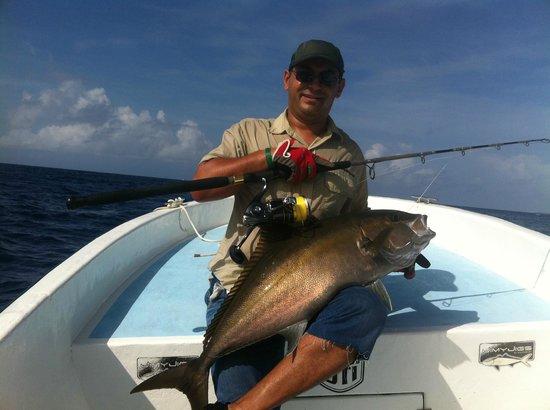 Fishing with Roberto Navarro : sériole/ amberjack playa del carmen