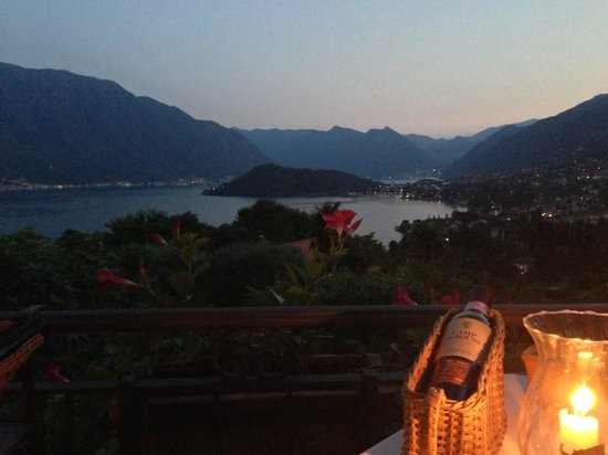 Al Veluu Ristorante & Suites : view from our table