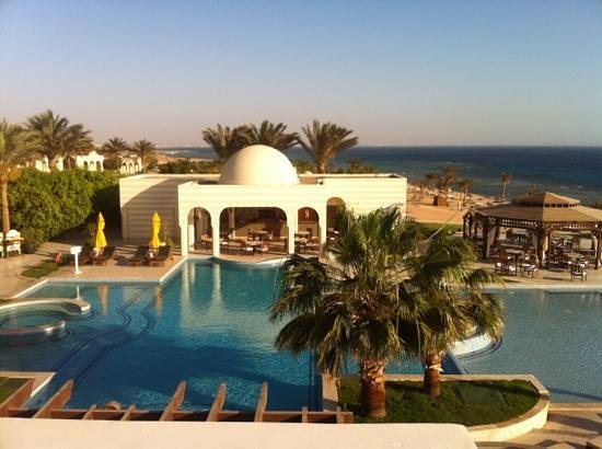 The Oberoi Sahl Hasheesh: the best view i have ever seen