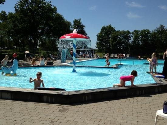Dalby, Denmark: Fun at the pool.