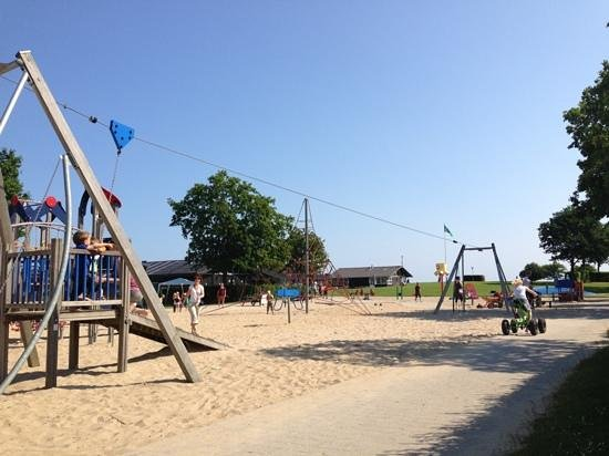 Dalby, Denmark: The kids loved the playground.