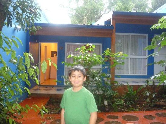 Cabanas Luces de la Selva: La cabaña donde nos alojamos