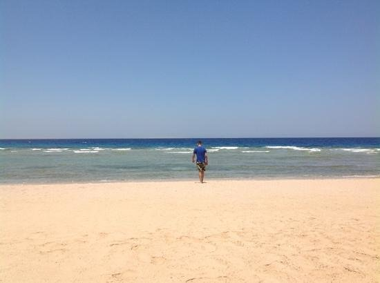 The Oberoi Sahl Hasheesh: peaceful beach