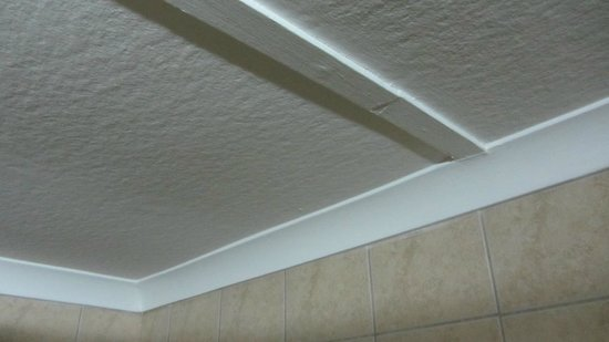 Safari Hotel: 12 july new room gleaming ceiling / coving