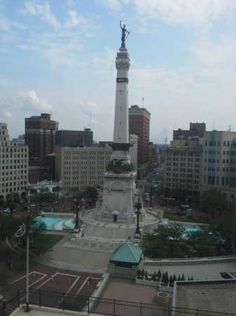 Sheraton Indianapolis City Centre Hotel: The view from Room 1405