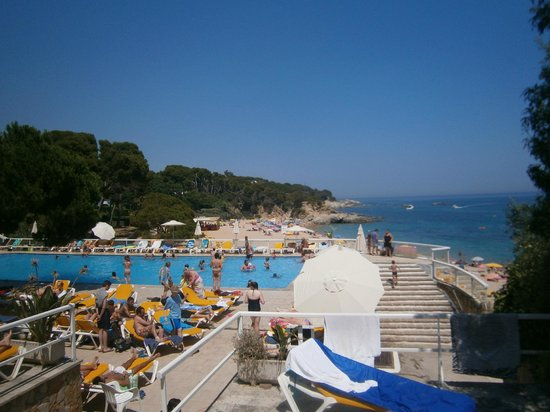 Pool picture of h top caleta palace platja d 39 aro tripadvisor Girona hotels with swimming pool