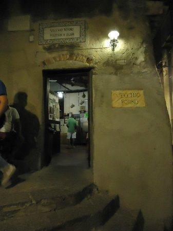 Pizzeria Vecchio Forno: La cucina