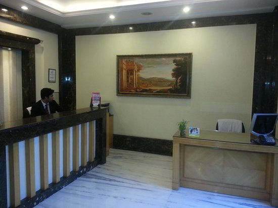 The Florence Inn: reception area