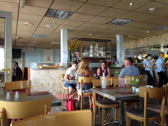 Seashore Grill & Cafe Bar: The Seashore Grill: a flawed jewel on the South Glamorgan coast.