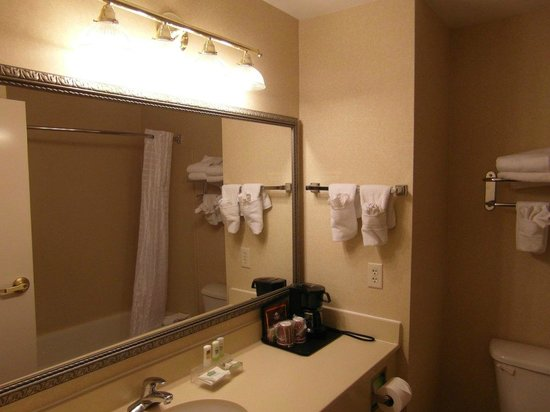 Country Inn & Suites By Carlson, Salisbury: Clean bathroom