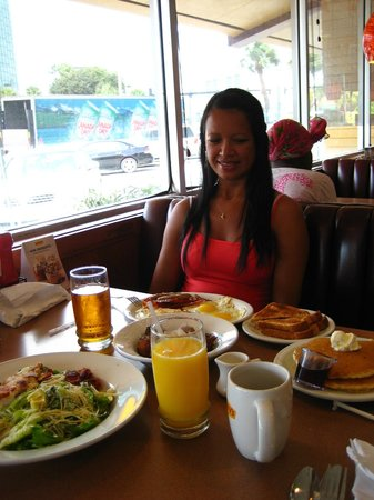 My Wife S First Breakfast In America At Denny