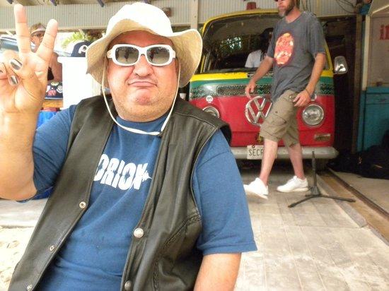 Seacrets, Jamaica U.S.A.: dj kabini