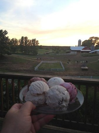 Moomers Homemade Ice Cream : Straight from them cows!
