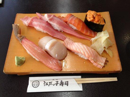 Edokkozushi: Melt in the mouth.