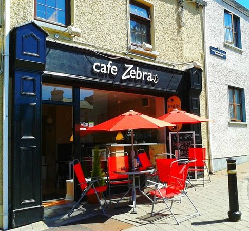 Cafe Zebra: Outdoor seat
