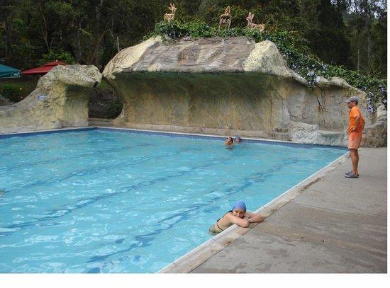 Choachi, Colômbia: piscina termal super calurosa