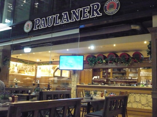 Paulaner in The Squaire: Nice place