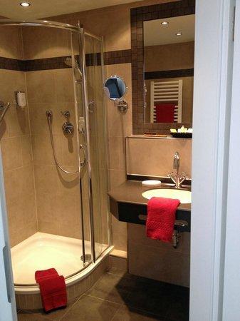Hotel Sylter Blaumuschel: Badezimmer