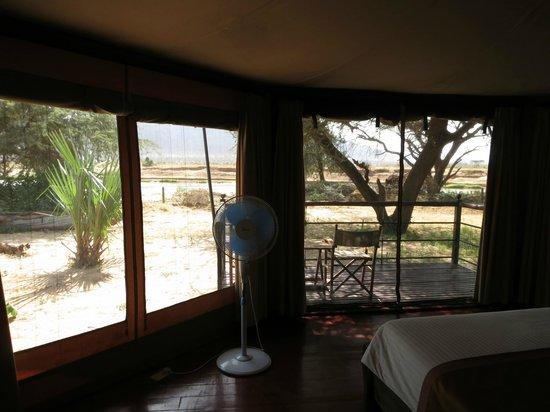 Ashnil Samburu Camp: Ausblick