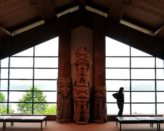 Museum of Northern British Columbia : What a view