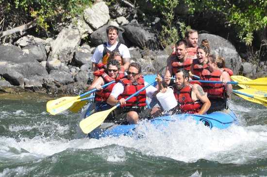 River Recreation Whitewater Rafting Day Trips: WooHoo!