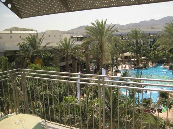 Isrotel Agamim : View from room