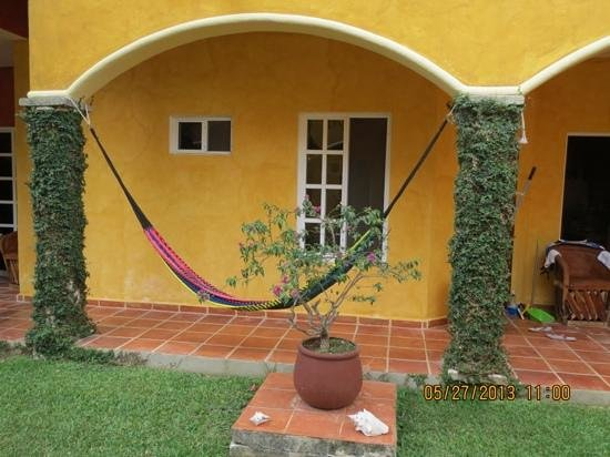 Casa Colonial : love the hammocks!!