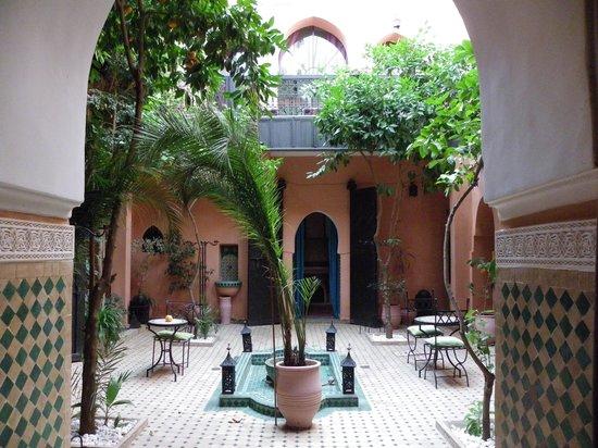 Riad Abbassia: Le patio vu de notre chambre