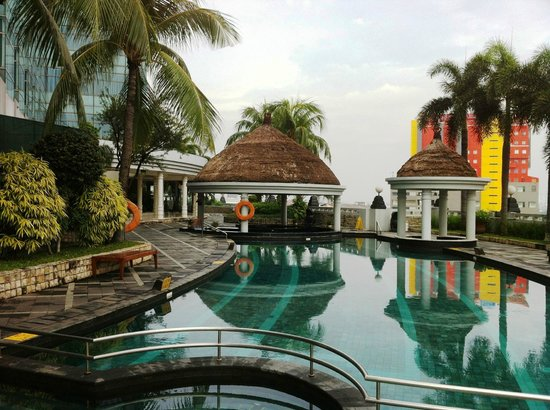 The Media Hotel And Towers : The pool