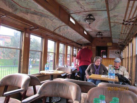 Train car inside foto di durango and silverton narrow for Noleggio di durango cabinado colorado