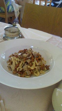 Hotel Vannucci: pici funghi e tartufo