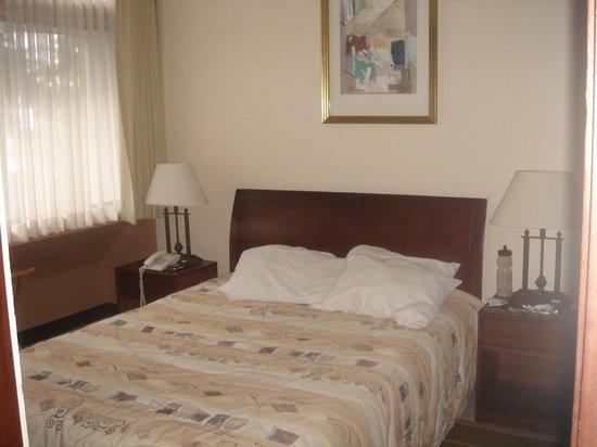Hotel Aranjuez : la chambre