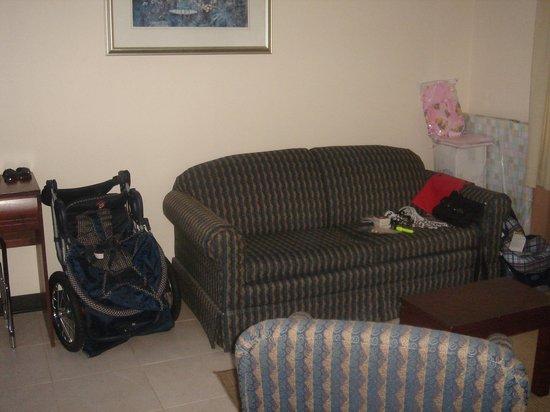 Hotel Aranjuez : le salon