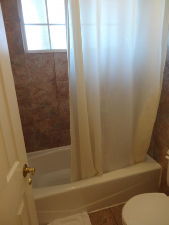 Stanford Motor Inn: Our bathroom