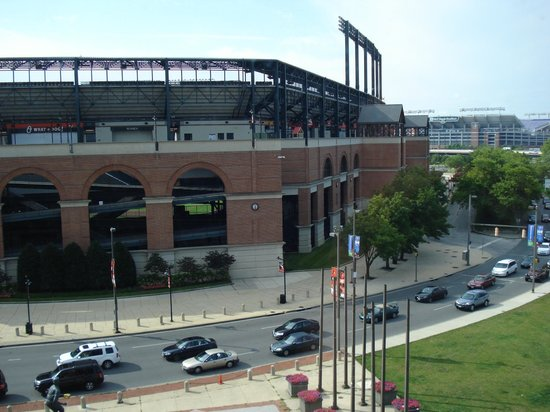 Hampton Inn Baltimore-Downtown-Convention Center: View from Hotel Room