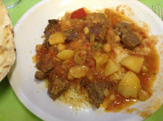 Potpourri: Cous cous alle verdure con carne