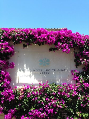 Grand Hotel Poltu Quatu Sardegna MGallery by Sofitel : Entrance