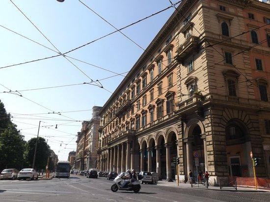 55 Inn : palazzo dall'esterno