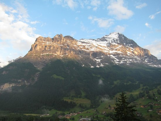 Belvedere Swiss Quality Hotel: The Eiger from our balcony